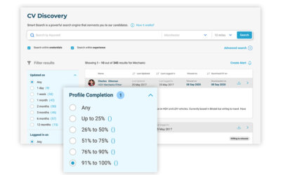 How to use filters to perform super-specific, tailored searches in CV Discovery